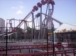 Six Flags Texas Death Firehawk Roller Coaster Wikipedia