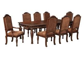 North Shore Bedroom Furniture By Ashley Shore Dining Table D553 35 Dark Brown Ashley Furniture