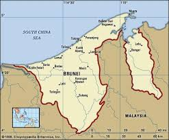brunei map in world brunei history geography britannica