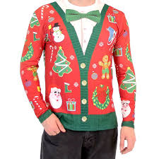 christmas shirts christmas cardigan with bow sleeve all print shirt