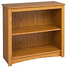 Amazon Com Sauder 2 Shelf Bookcase Select Cherry Finish Kitchen