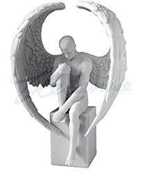 Angel Sculptures Amazon Com Sale Male Angel Sculpture Ships Immediately