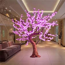 outdoor lighted cherry blossom tree artificial cherry blossom tree fake plants cheap artificial trees
