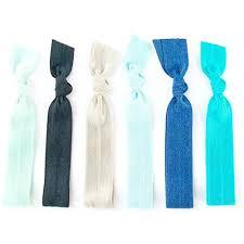 creaseless hair ties hair ties ombre naturals elastic ribbon ponytail