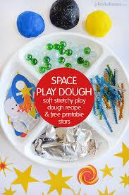 printable playdough recipes super cool space play dough picklebums