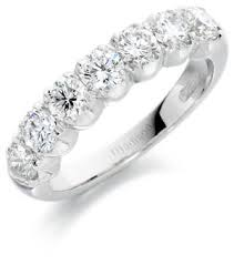 half eternity ring platinum half eternity ring 12 jewellers hatton garden