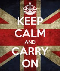 Keep Calm And Carry On Meme - keep calm and carry on uk flag scn015 don poster