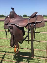 Horse Saddle by 16 1 2 Jeff Smith Cow Horse Saddle