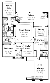 Big House Blueprints 40 More 1 Bedroom Home Floor Plans Small Lot Big House Floorplan