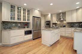 Glass Cabinet Doors Kitchen Countertops Backsplash Luxury Modern Door With Kitchen White