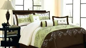 Free Bed Sets Amusing Green Comforter Sets And Brown Set Windigoturbines