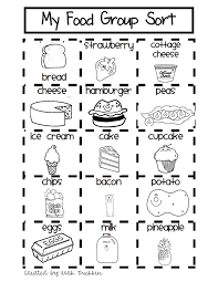 bunch ideas of food worksheets pdf on download huanyii com