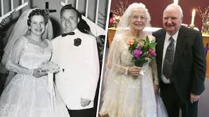 Wedding The Dress Of My Dreams U0027 Woman Rewears Wedding Gown 60 Years Later