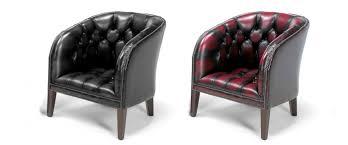 Tub Chairs York Chesterfield Tub Chair Leather Tub Chairs