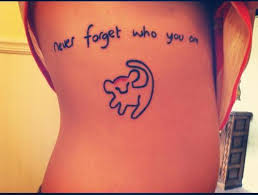 disney tattoos lion king simba never forget who you are tattoo love