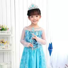 frozen dress for halloween aliexpress com buy sales frozen princess elsa and anna