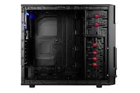 amazon com thermaltake commander ms i mid tower atx gaming