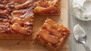 caramel apple upside down cake recipe bettycrocker com