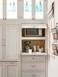 Kitchen Cabinets With Microwave Shelf Microwave Shelf Dark Quartz With White Cabinets Stainless