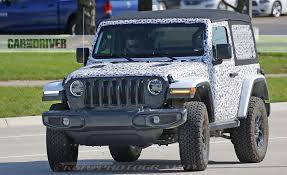 car jeep wrangler 2018 jeep wrangler spy photo pictures photo gallery car and