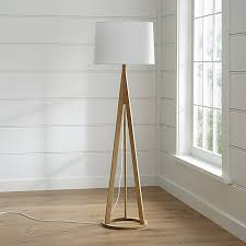 jackson floor lamp crate and barrel
