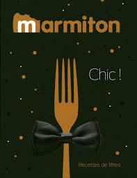 livre cuisine marmiton marmiton chic