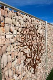 Ideen Mit Steinen Gabionenzaun Ideen 30 Varianten Aus Stein Holz Und Glas