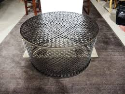 Hammered Metal Coffee Table Table Round Hammered Metal Coffee Table Modern Expansive Round