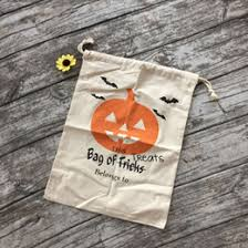 discount personalized halloween treat bag 2017 personalized
