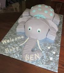 elephant themed baby shower cakes baby shower diy