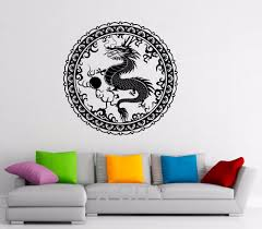 compare prices on stickers chinese online shopping buy low price chinese dragon wall decal orient mythology vinyl stickers chinese style home interior design art murals living