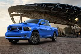 nissan trucks blue 2018 ram 1500 sport hydro blue edition is one bright pickup truck