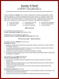 Student Teaching Resume Samples by 17 Pictures Of Simple Resume For Teaching Sendletters Info
