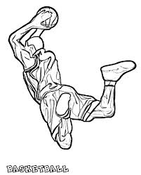 fresh coloring pages basketball gallery colori 5634 unknown