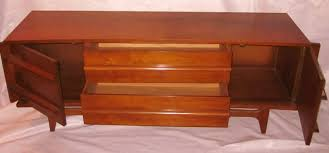 Modern Storage Cabinet Mid Century Modern Mcm Young Furniture Kagan Style Low Credenza