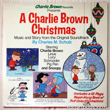 original brown christmas charles m schulz a brown christmas 1977 vinyl
