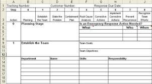8d report template 8d report template in excel eight disciplines report