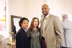 alonzo mourning hosts opening of kreiss design district showroom
