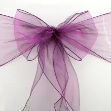 online get cheap wedding chair sashes purple aliexpress com
