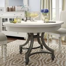white round kitchen table interior design
