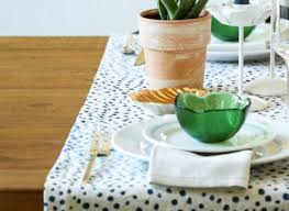 make your own table runner diy table runner idea is the easiest way to make your dining room