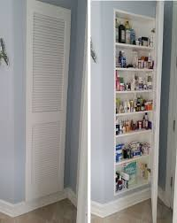 Storage Idea For Small Bathroom Diy Built In Shelving For My Bathroom Shelving Storage And