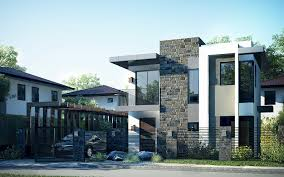 new design house double floor new modern house design with plan home pictures