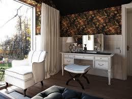 Vanity Furniture Bedroom by Modern Vanity Table Bedroom Transitional With Curtains Dark