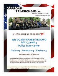offroad trackchairs upcoming and previous events