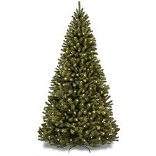 holiday time pre lit 7 5 u0027 kennedy christmas tree green multi