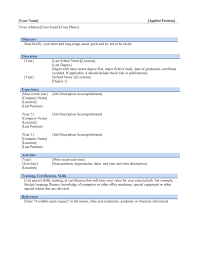 Sales Manager Resume Samples by Download Resume Templates For Microsoft Word