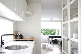 houzz glass kitchen cabinet doors the home of tessa martin scandinavian kitchen