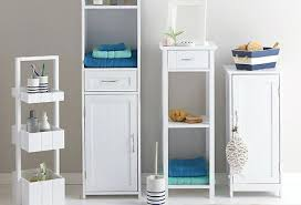 Bathroom Furniture Freestanding White Bathroom Cabinets Free Standing Aeroapp