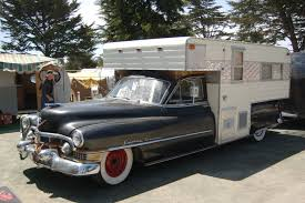 cadillac truck vintage truck based camper trailers from oldtrailer com